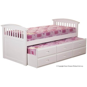 Sweet Dreams Kipling Captains Bed Frame-