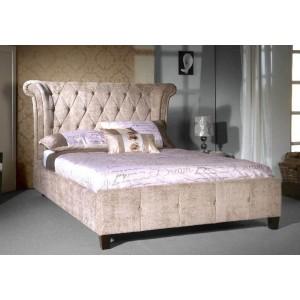 Limelight Epsilon Fabric Bed Frame in Mink-