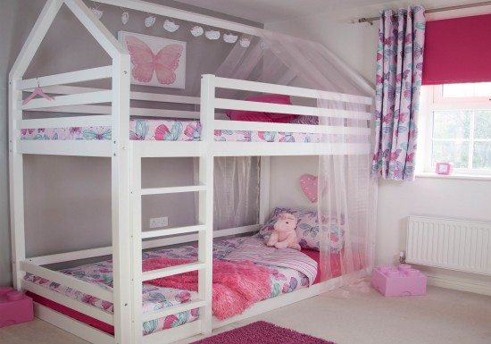 Play House Bunk Bed Girls