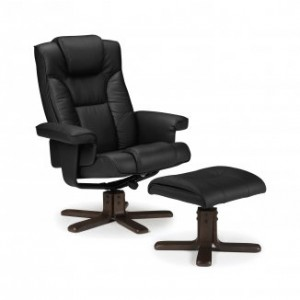 The Julian Bowen Malmo Swivel and Recliner Chair