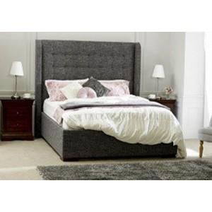 Limelight Aquila Slate Fabric Bed Frame -