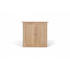 LDP Ocean 2 Door Wall Cabinet Oak