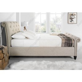 Kaydian Belford Fabric Sleigh Bed