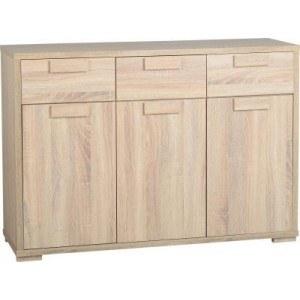 Seconique Cambourne 3 Door 3 Drawer Sideboard-