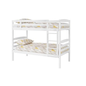 Serene Brooke White Bunk Bed-