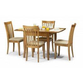 Julian Bowen Newbury Maple Extending Dining Table