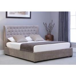 Emporia Beds Kensington Wing Ottoman Fabric Bed Frame
