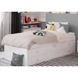 Kidsaw Arctic Multi Drawer Single Bed-