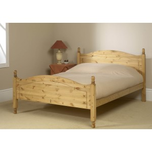 Friendship Mill Orlando High Footend Wooden Bed Frame-