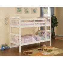 Elan Beds Pavo Bunk Bed In White