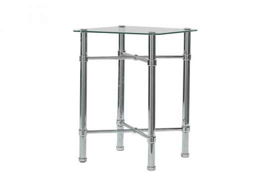 Original Bedstead Company Chrome Bedside Table
