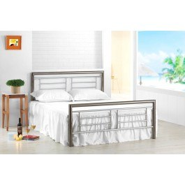 Birlea Montana Metal Bed Frame