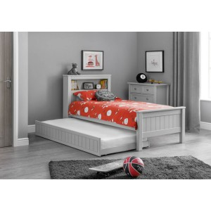 Maine Bookcase Bed with trundle bed