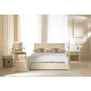 Emporia Beds Madrid Ottoman in Ivory-