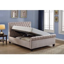 Flair Furnishings Lola Fabric Ottoman Bed