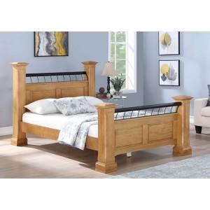 Hunter Bed Frame in Oak