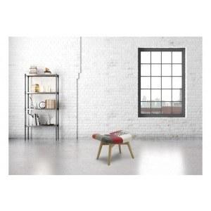 Birlea Sloane Fabric Footstool