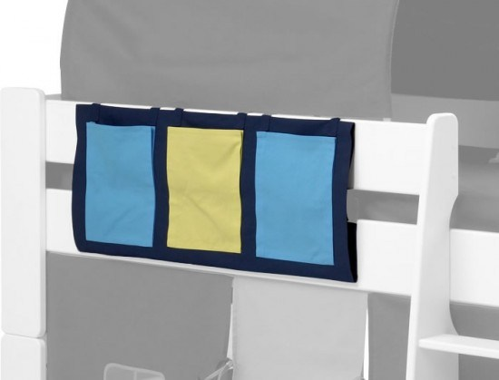 Steens For Kids Blue Pocket Tidy-color Navy Blue