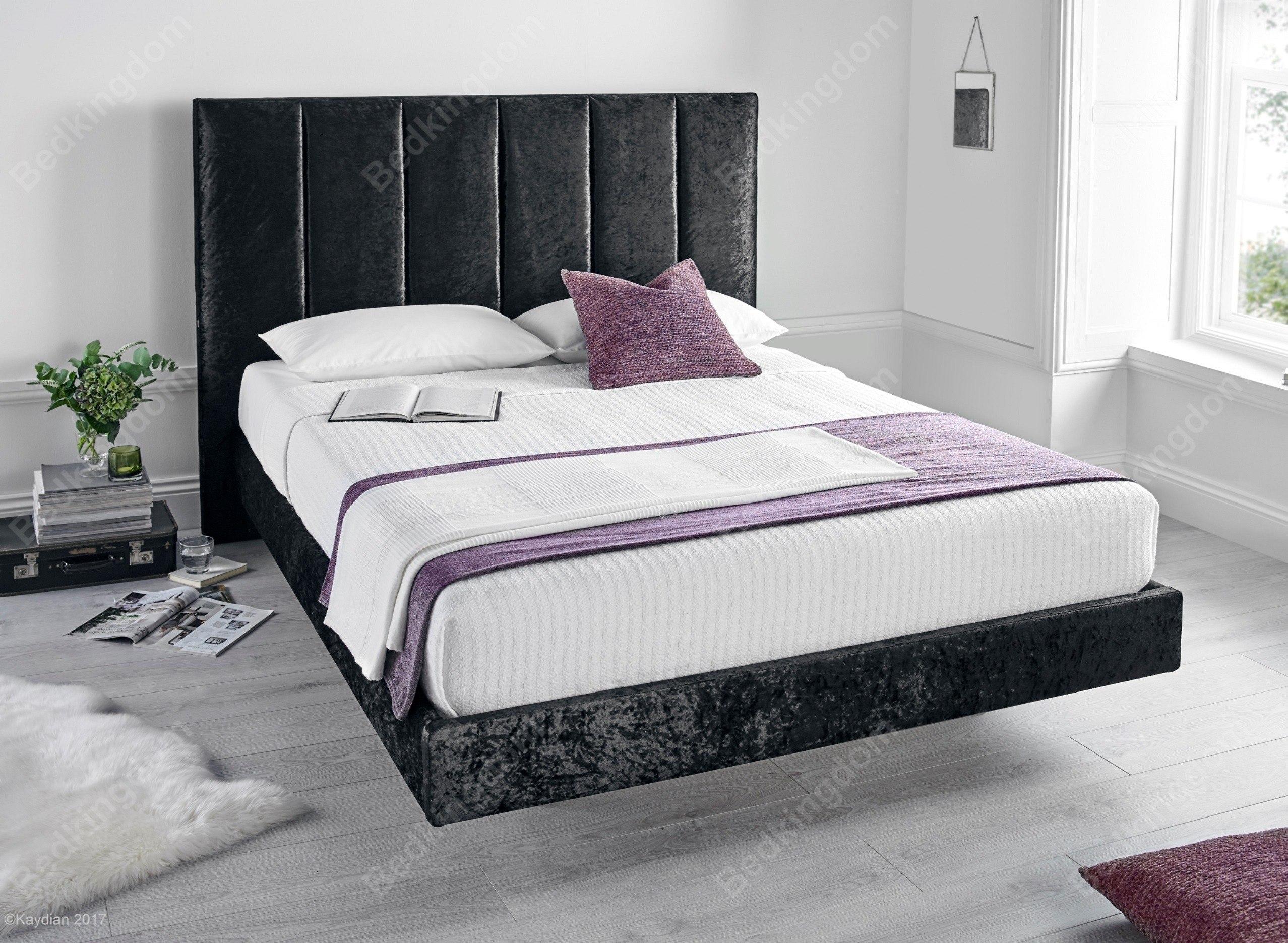 Kaydian Clarice Crushed Velvet Bed Frame | Black Friday &