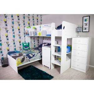 Wizard L Shaped Bunk Bed
