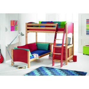 Scallywag L Shaped Bunk Bed -