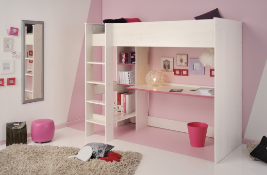 Parisot Smoozy Highsleeper-color White