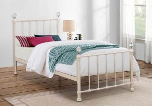 Birlea Jessica Metal Bed Frame-