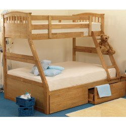 Sweet Dreams Epsom Apollo Triple Sleeper Bunk Bed