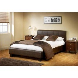 Julian Bowen Vienna Faux Leather Bed Frame
