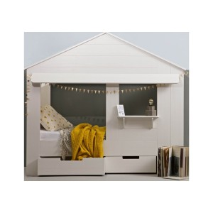 Woood Kids House Cabin Bed-