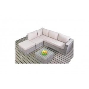 WGF Rustic Small Corner Sofa