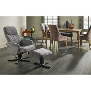 Serene Stavern Massage Fabric Recliner Chair