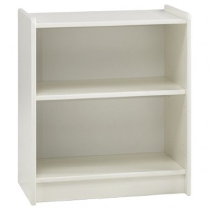 Steens For Kids Low Bookcase White