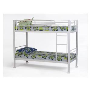 Metal Beds No Bolt Bunk Bed-