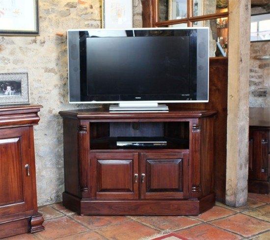 La Roque Widescreen Corner Cabinet 1