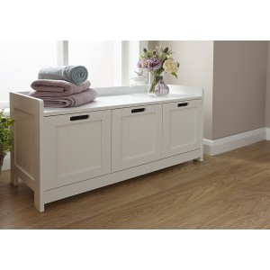GFW Colonial 3 Door Storage Bench-