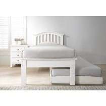 Flair Furnishings Justin Guest Bed White-color Grey