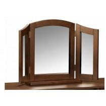 Julian Bowen Minuet Wenge Triple Dressing Table Mirror