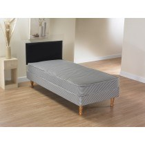 La Romantica Aqua Budget Contract Divan Bed