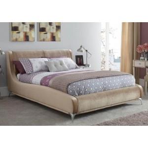 Serene Faye Fabric Bed Frame-