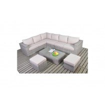 WGF Rustic Large Corner Sofa