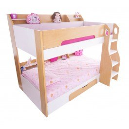 Flair Furnishings Flick Bunk Bed Maple
