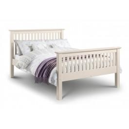 Julian Bowen Barcelona High Foot End Bed Frame In White