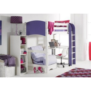 Scallywag Highsleeper with Futon and Desk