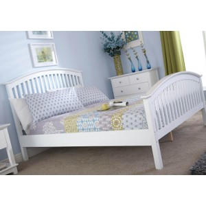GFW Madrid High Foot End Wooden Bedstead-