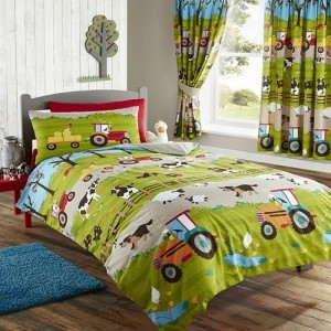 Kids Club Farm Yard Bedding Set-