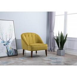 Alexa Mustard Chair Room Set