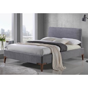 Limelight Andromeda Grey Fabric Bed Frame -