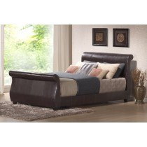 Harmony Winchester Faux Leather Bedframe