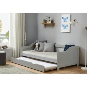 Birlea Brixton Grey Guest Bed Frame-